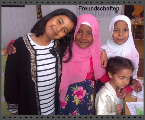 Salima, Rana, Reem und Aicha